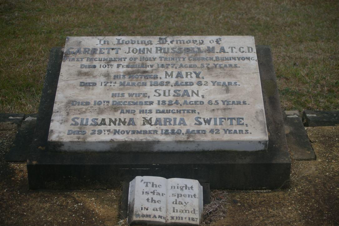 Russell gravesite Buninyong