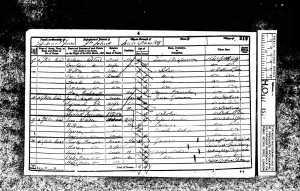 Charles Slawson 1851 census