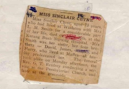 1943-04-30 Sinclair Clyne obituary-page-001