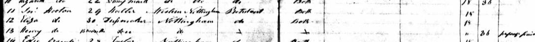 John Hooton Victorian passenger lists