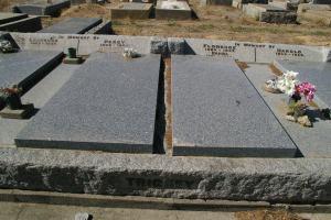 Trickey family Avoca Cemetery