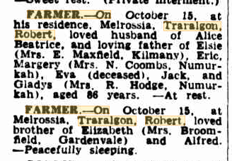 Robert Farmer death notice