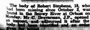 Body of Robert Stephens