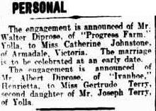 Johnston Diprose engagement