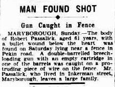 Man found shot