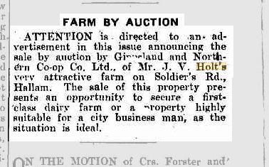 Farm by auction
