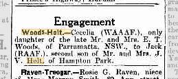 Woods-Holt engagement