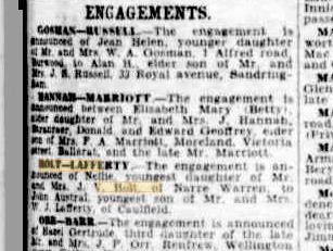 Holt-Lafferty engagement
