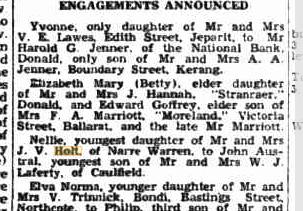 Nellie Holt engagement
