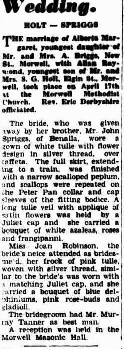 Holt Spriggs wedding