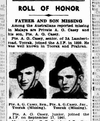 Father and Son Missing
