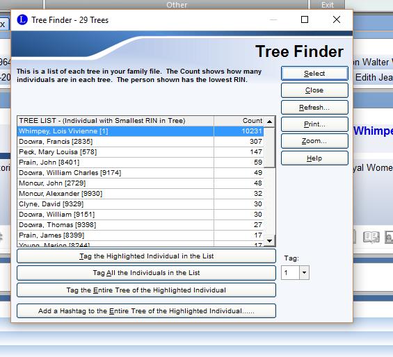 count trees internet tree