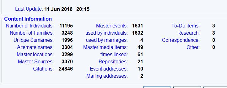 file statistics