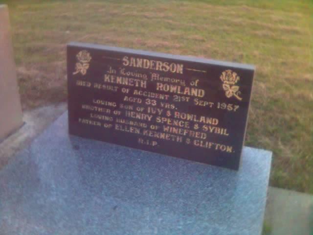 2008-12-27 Kenneth Rowland Sanderson
