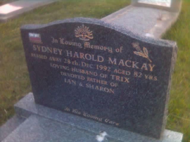 2008-12-27 Sydney Harold Mackay