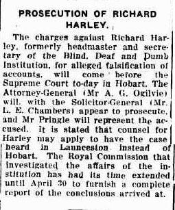 Prosecution of Richard Harley