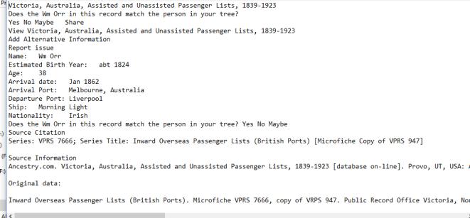 index details