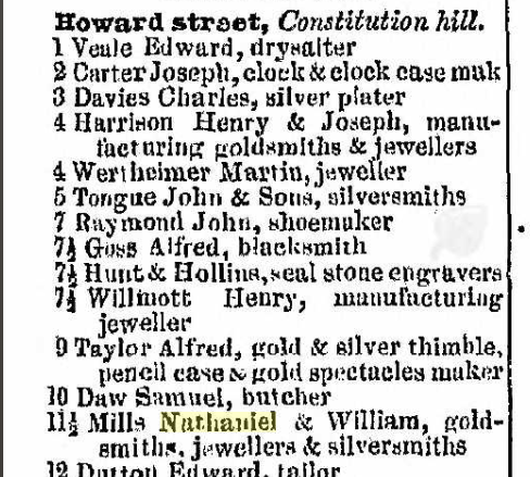 1855 Post Office directory of Birmingham