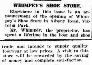 Whimpey's Shoe Store