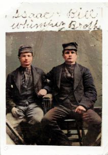Isaac and William Whimpey-Colorized