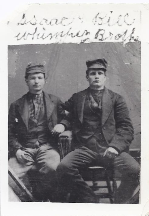 Isaac Whimpey 1827-1902 and his brother William 1829-1874