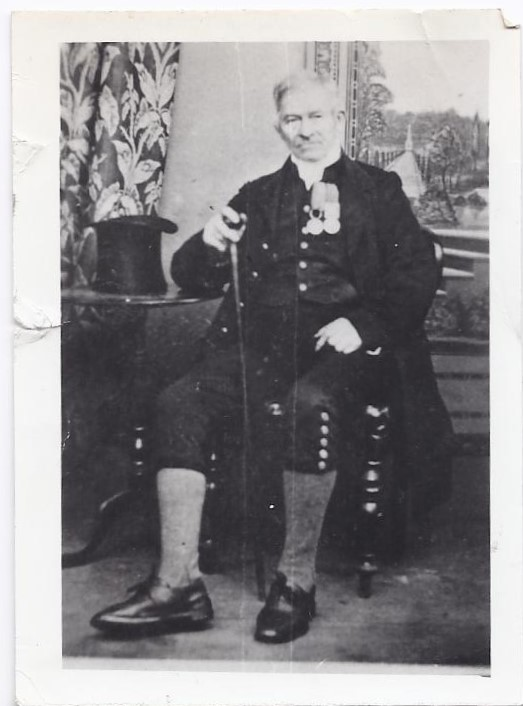 My 3x great grandfather William Whimpey 1789-1870