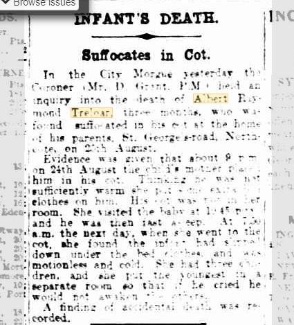Infant's Death